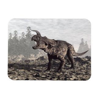 Einiosaurus dinosaur - 3D render Magnet