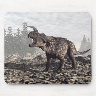 Einiosaurus dinosaur - 3D render Mouse Pad
