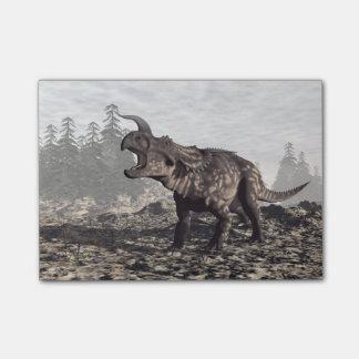 Einiosaurus dinosaur - 3D render Post-it® Notes