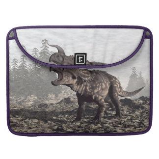 Einiosaurus dinosaur - 3D render Sleeve For MacBooks