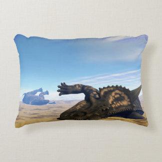 Einiosaurus dinosaurs dead accent pillow