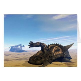 Einiosaurus dinosaurs dead card