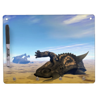 Einiosaurus dinosaurs dead dry erase whiteboard
