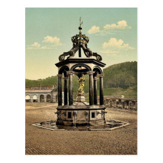 Einsiedeln, the fountain, Lake Lucerne, Switzerlan Postcard