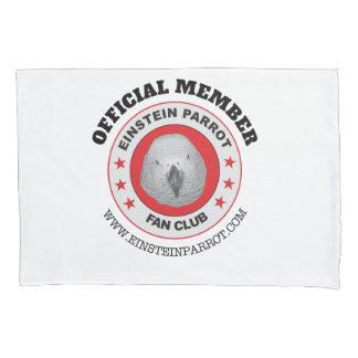 Einstein Parrot African Grey Parrot Fan Club Logo Pillowcase