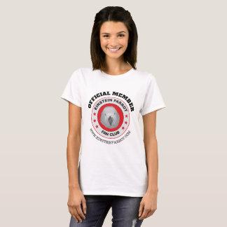 Einstein Parrot African Grey Parrot Fan Club Logo T-Shirt