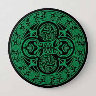 Eire: Celtic Irish ambigram 4 Inch Round Button