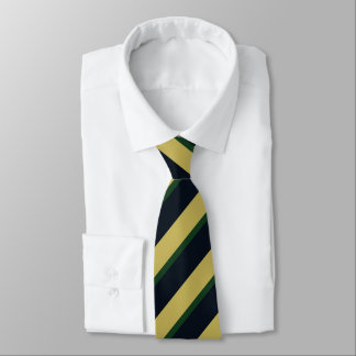 Eire of Dame Erin Diagonally-Striped Tie