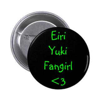 Eiri Yuki Fangirl <3 2 Inch Round Button