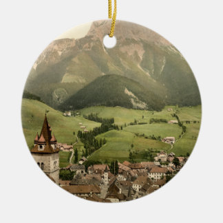 Eisenerz, Styria, Austria Ceramic Ornament