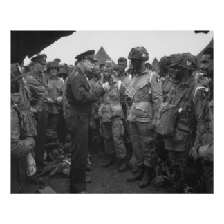 Eisenhower and the Airborne Poster