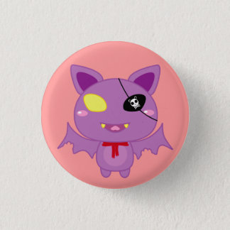 Eitel the Bat 1 Inch Round Button