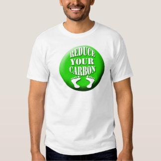 EJ carbon footprint design T Shirt