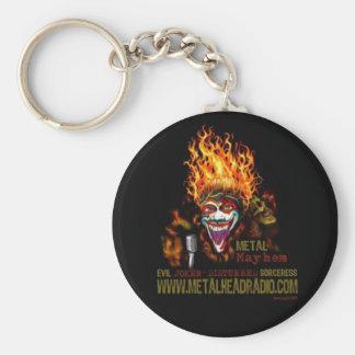 Ej & DS's Metal Mayhem keychain