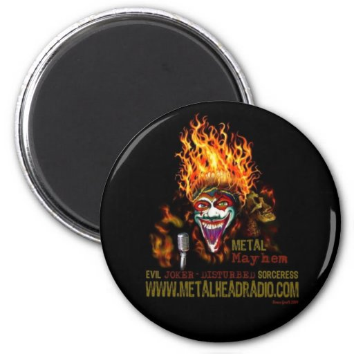 EJ & DS's Metal Mayhem magnet