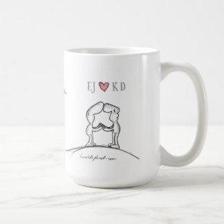 EJ heart KD Classic White Coffee Mug