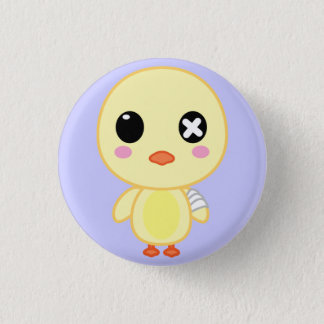 Ejiki the Chick 1 Inch Round Button