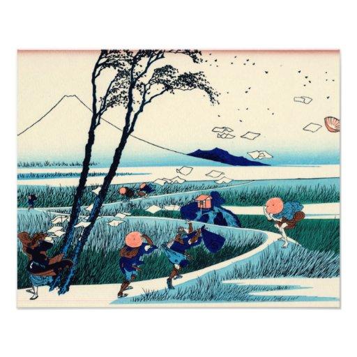 Ejiri in Suruga Province Photographic Print