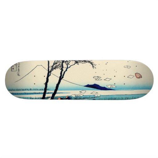 Ejiri in Suruga Province Custom Skate Board