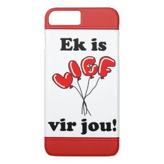 Ek is lief vir jou iPhone 8 plus/7 plus case