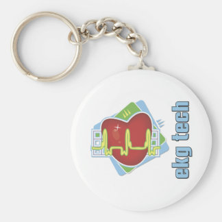 EKG Tech Keychain