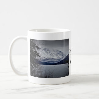 Eklutna Lake Alaska Coffee Mug