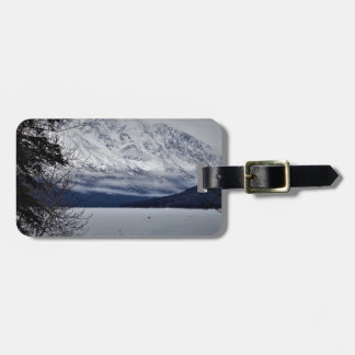 Eklutna Lake Alaska Luggage Tag