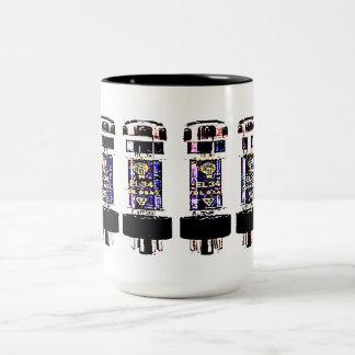 EL 34 Tubes Two-Tone Mug