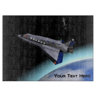 El Al Space Shuttle Cutting Board