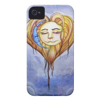 El Amor del Sol y la Luna iPhone 4 Case-Mate Case