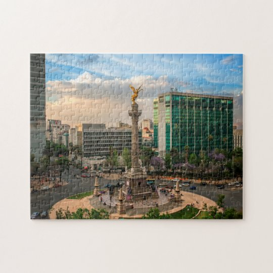 El Angel De Independencia Jigsaw Puzzle