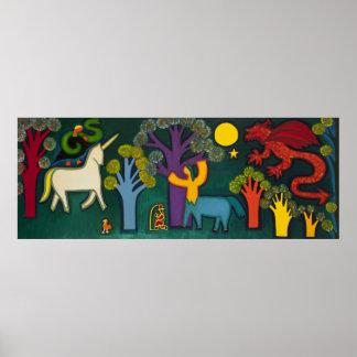 El Bosque Magico de Lucas 2009 Poster