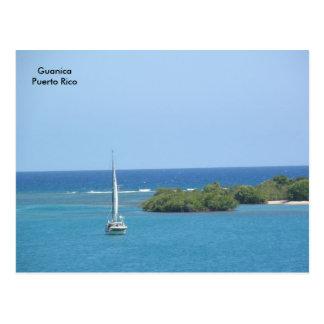 El Bote en el Mar Postcard
