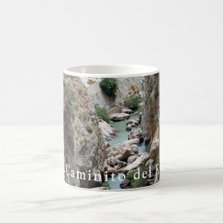 El Caminito del Rey. View 1 Coffee Mug