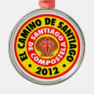 El Camino de Santiago 2012 Metal Ornament