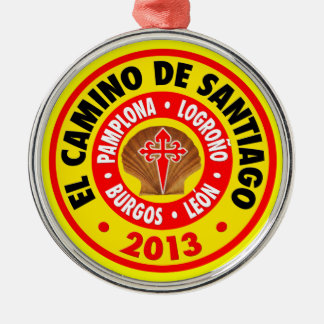 El Camino De Santiago 2013 Metal Ornament