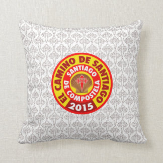 El Camino De Santiago 2015 Throw Pillow