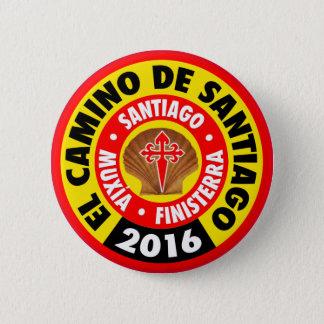 El Camino de Santiago 2016 2 Inch Round Button