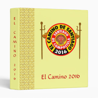 El Camino de Santiago 2016 Binder