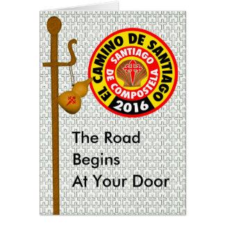 El Camino De Santiago 2016 Card