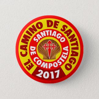 El Camino de Santiago 2017 2 Inch Round Button