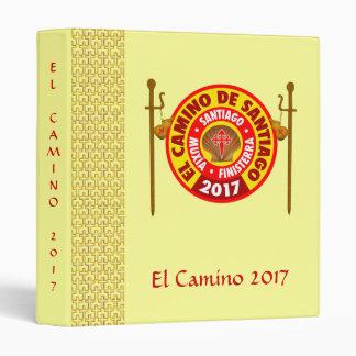 El Camino de Santiago 2017 3 Ring Binders