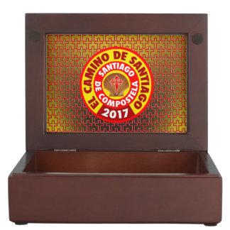 El Camino de Santiago 2017 Keepsake Box