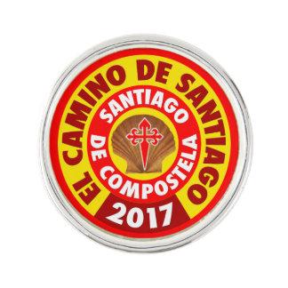 El Camino De Santiago 2017 Lapel Pin