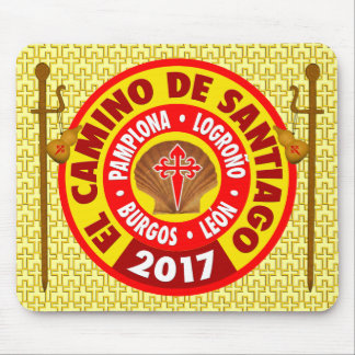 El Camino de Santiago 2017 Mouse Pad