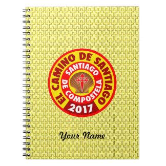 El Camino de Santiago 2017 Notebooks