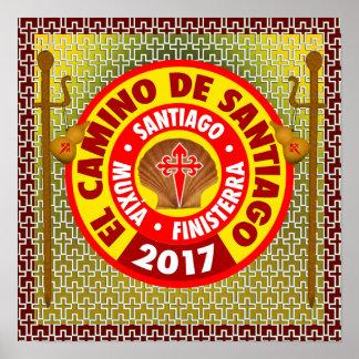 El Camino de Santiago 2017 Poster