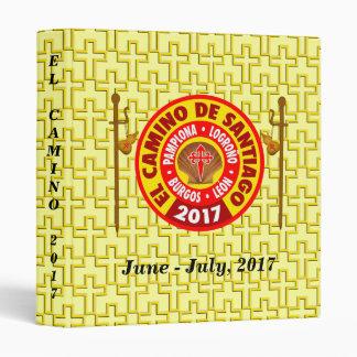 El Camino de Santiago 2017 Vinyl Binder
