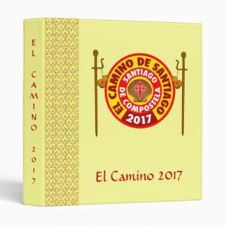 El Camino de Santiago 2017 Vinyl Binders