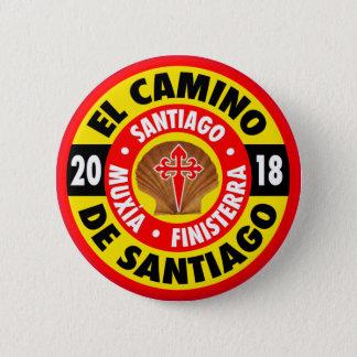 El Camino de Santiago 2018 2 Inch Round Button